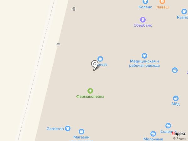 Лакомый мир на карте Омска
