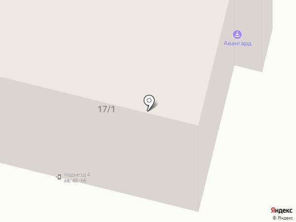 Легион на карте Омска
