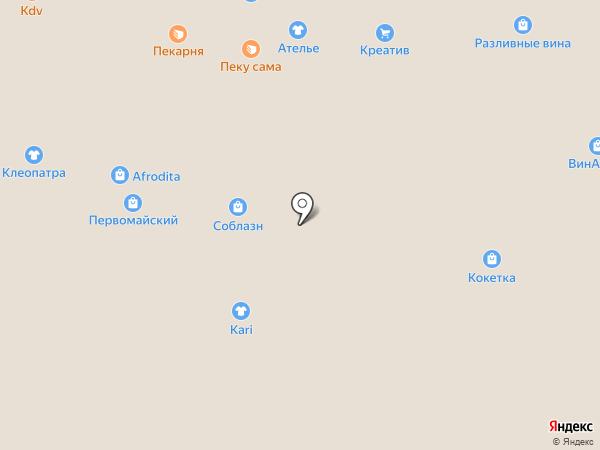 Магазин спортивной одежды на карте Омска
