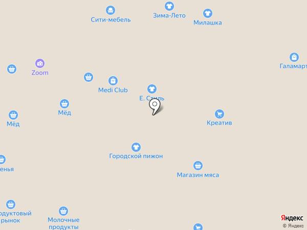 Сити-Мебель на карте Омска