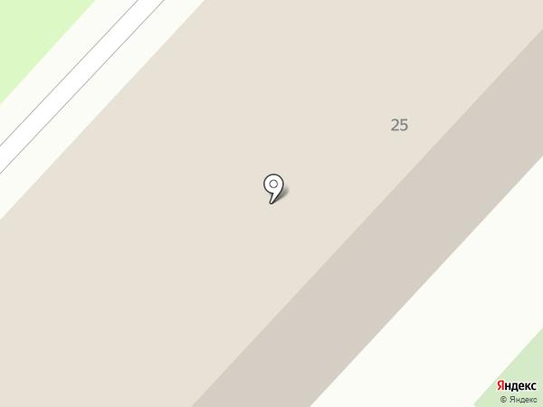 Заполярпромгражданстрой на карте Омска