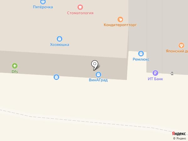Магазин трикотажной одежды и чулочно-носочных изделий на карте Омска