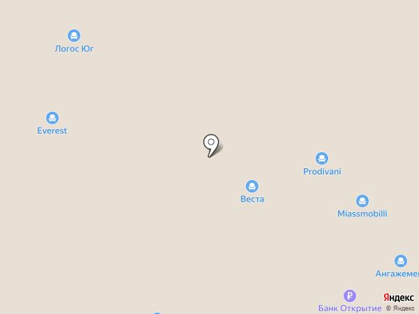 Hilding Anders на карте Омска