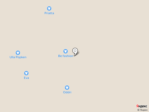 La Verti на карте Омска