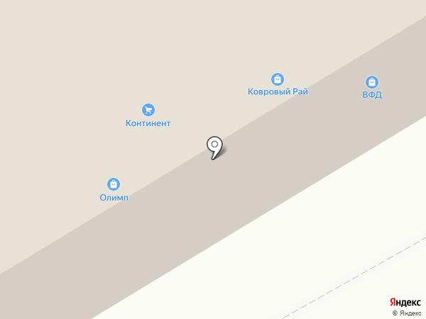 ВЕНЕРА на карте Омска