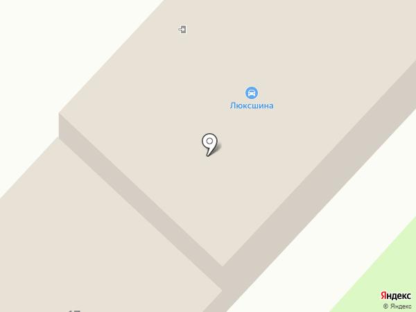ЮНИСИБТРЕЙД на карте Омска