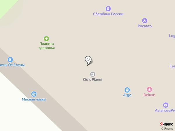 Югрател на карте Сургута