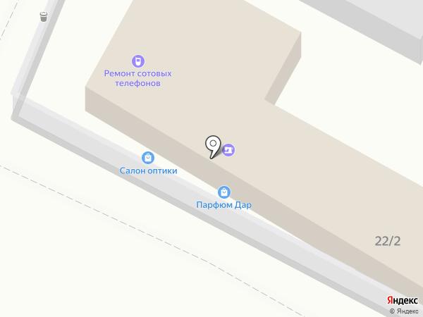 Магазин игрушек и бижутерии на карте Омска