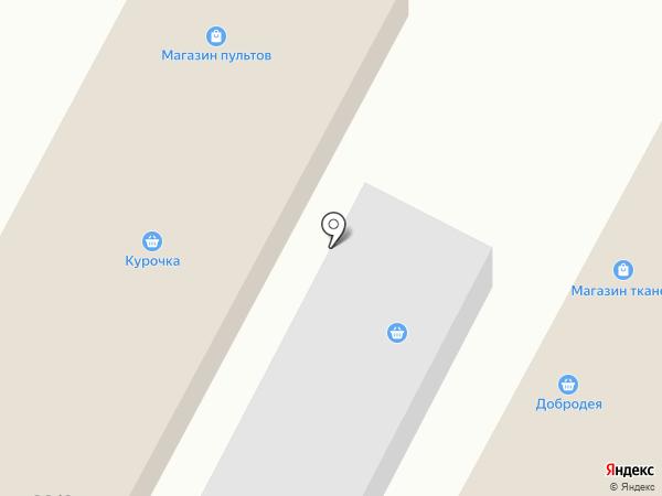 Магазин одежды на карте Омска