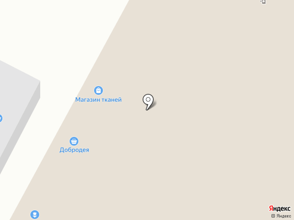 Добродея на карте Омска