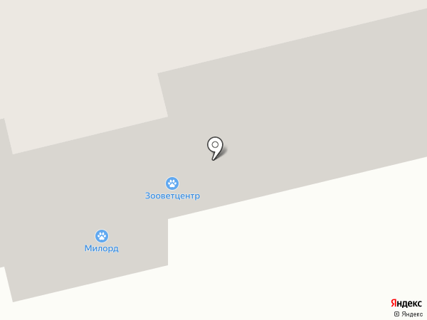 Зооветцентр на карте Сургута