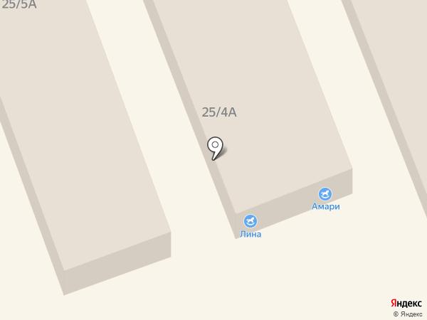 Ангелина на карте Омска