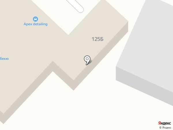 АВТОСТОП на карте Омска