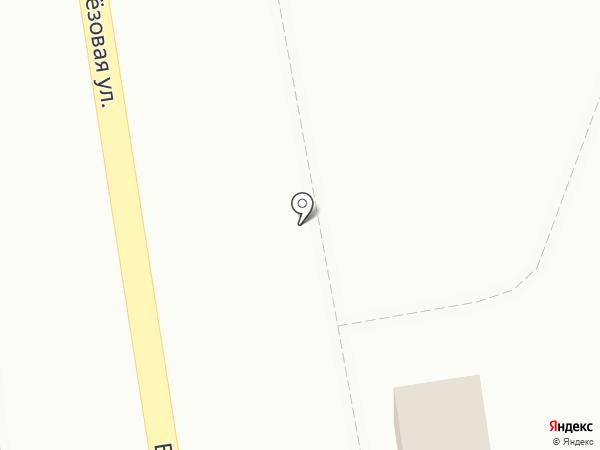 Продовольственный магазин на карте Омска