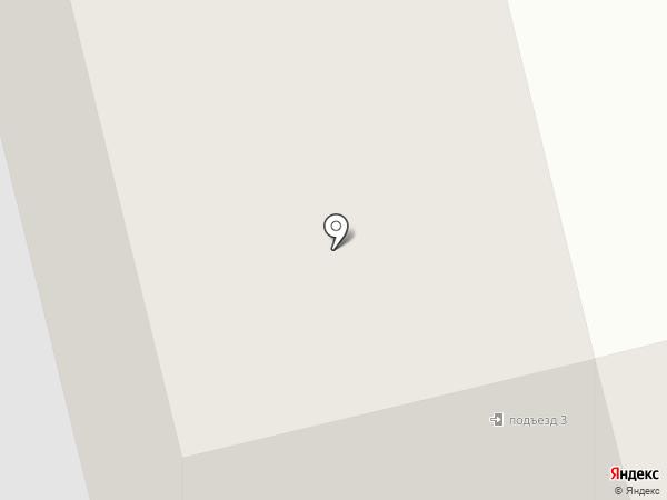 Модная расческа на карте Сургута