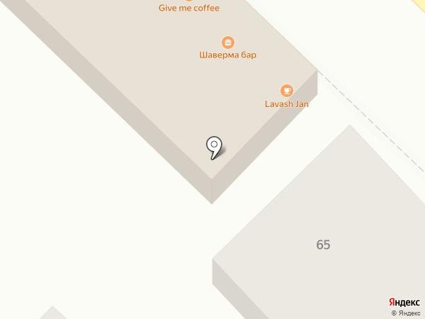 Япончик на карте Омска
