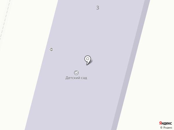 Омский детский сад на карте Омского