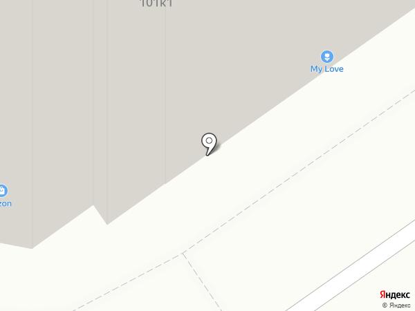 Метизстройкомплект на карте Омска