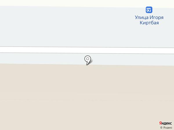 Шторм на карте Сургута