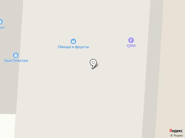 Августин на карте Сургута