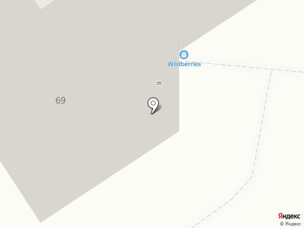 Оплот на карте Омска
