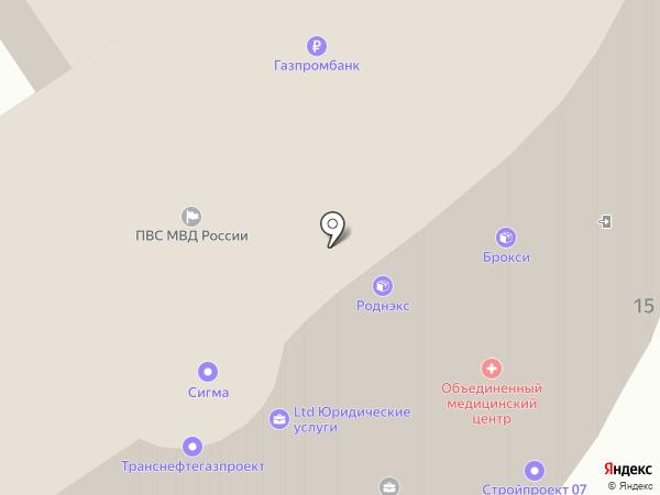 Инвест-Проект на карте Омска