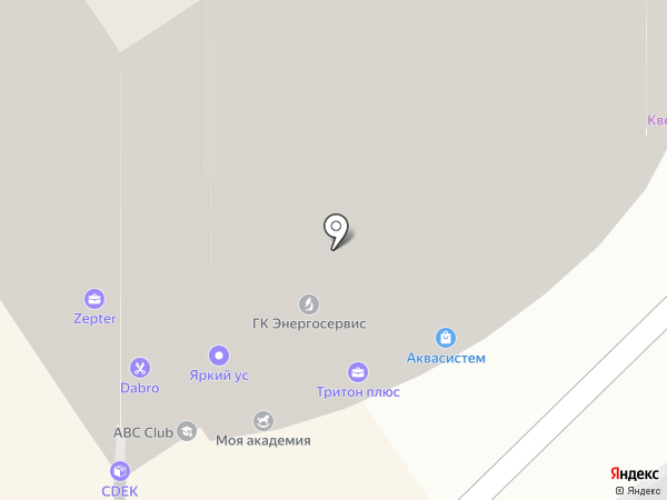 КОМПАНИЯ АКВАСИСТЕМ на карте Омска