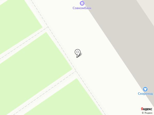 Совкомбанк, ПАО на карте Омска