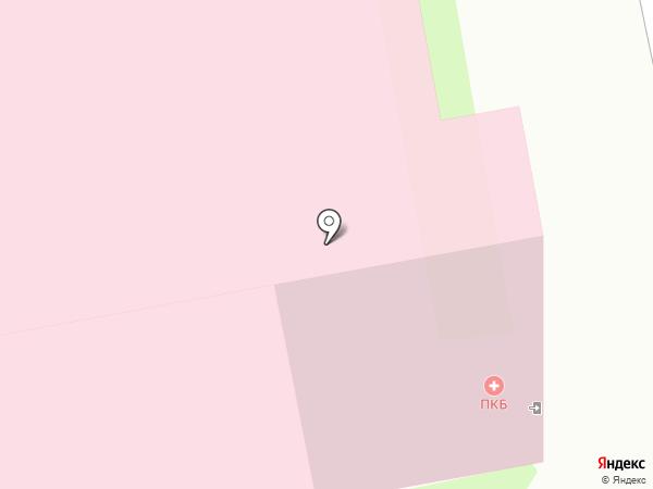 Сургутская городская поликлиника №4 на карте Сургута