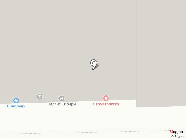 Талант Сибири на карте Омска