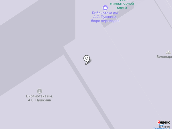 Омский областной Дом журналистов, БУ на карте Омска
