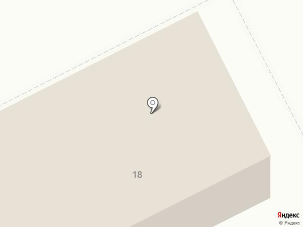 Расчетно-кассовый центр-18 на карте Сургута