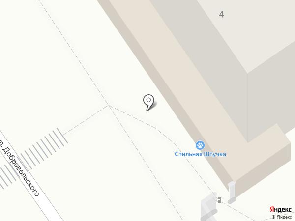 Добрый Кот на карте Омска