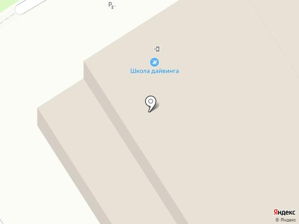 Авторская школа плавания Сергея Макова на карте Омска
