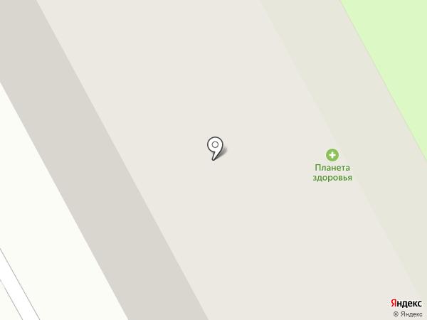 Планета Здоровья на карте Сургута