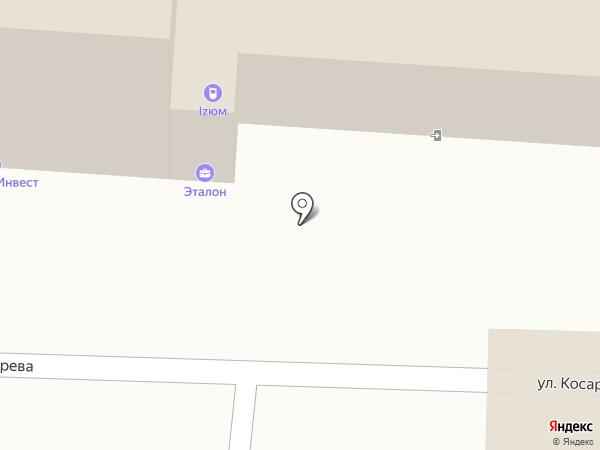 Приус на карте Омска