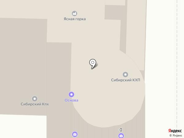 Ланч-Тайм на карте Омска