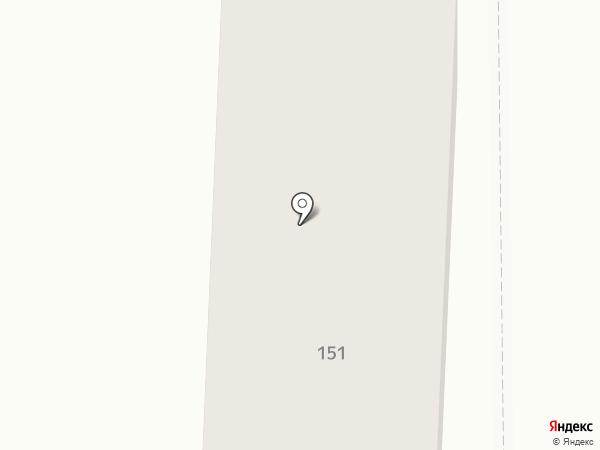 Гостиница квартирного типа на карте Омска