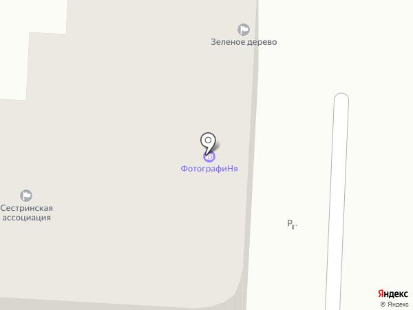 Лэндэл на карте Омска
