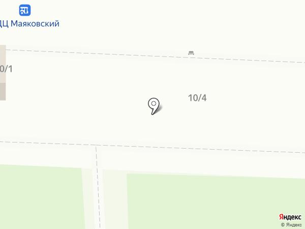Очаг на карте Омска