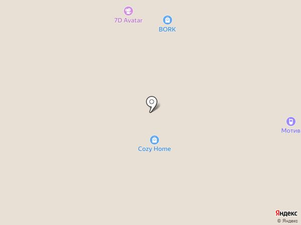 Podium на карте Сургута