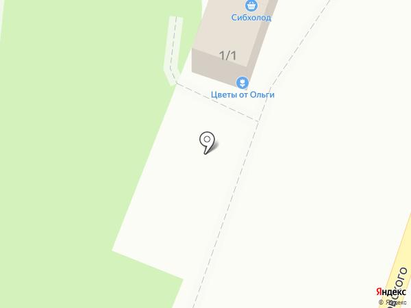 Магазин кондитерских изделий на карте Омска