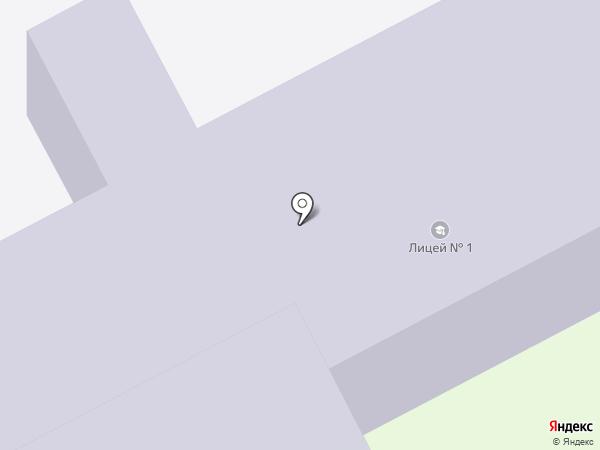Лицей №1 на карте Сургута
