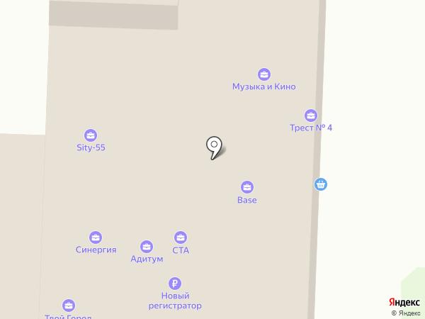 Октава на карте Омска