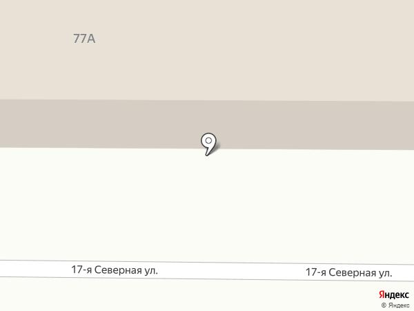 Маслодом на карте Омска