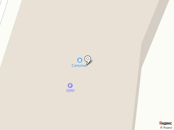 Магнит на карте Сургута