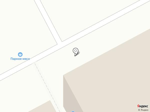 Стеклотон на карте Сургута