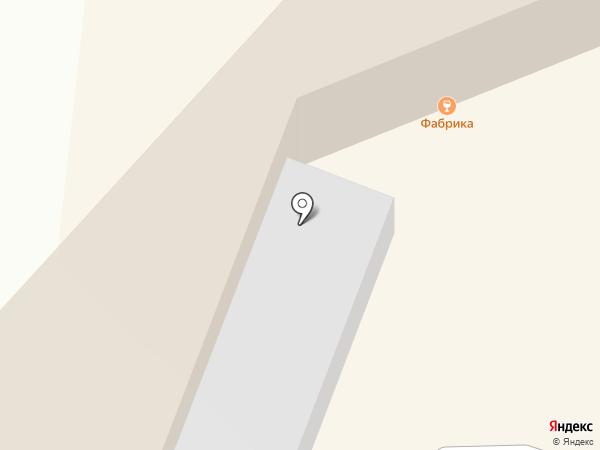 Фабрика на карте Омска
