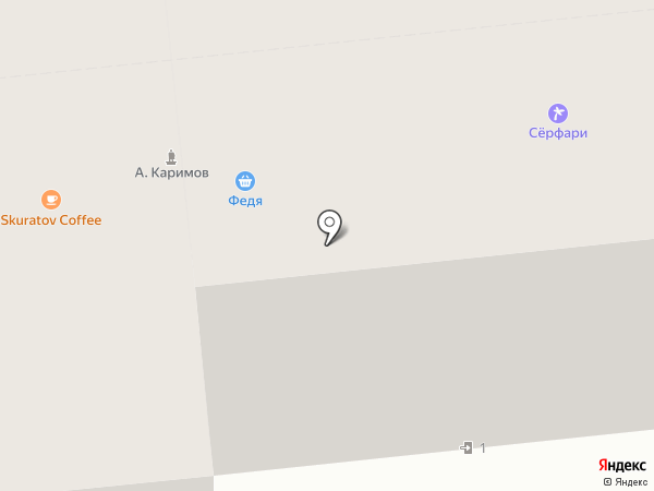 Ежевика на карте Омска