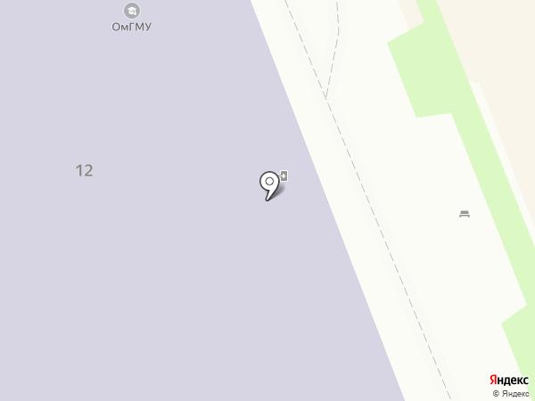 Тандем на карте Омска